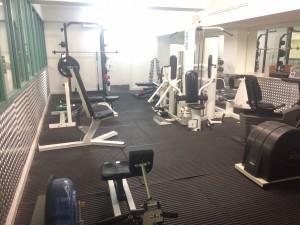 Gym improvements underway
