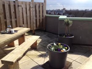 Jubilee Heights Roof Garden refreshed